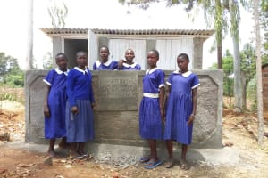 The Water Project: Bukhubalo Primary School -  New Latrines
