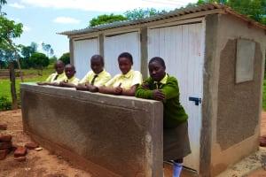 The Water Project: Bushili Secondary School -  New Latrines
