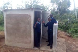 The Water Project: Esibeye Secondary School -  New Latrines