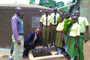 The Water Project: Bushili Secondary School -  Clean Water