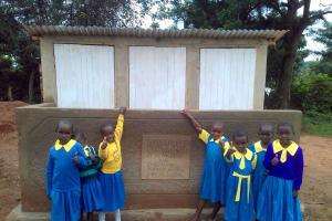 The Water Project: Chebunaywa Primary School -  New Latrines