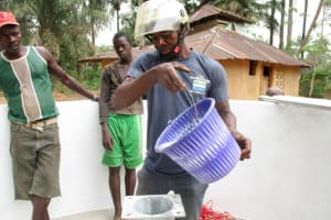 The Water Project: Kipolo Community -  Pump Installation