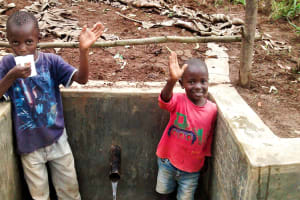 The Water Project: Bumavi Community, Esther Spring -  Clean Water