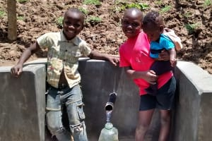 The Water Project: Ivulugulu Community, Ishangwela Spring -  Clean Water