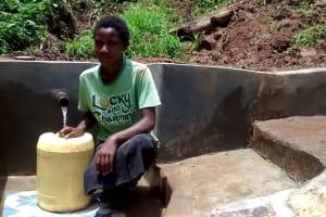 The Water Project: Elukani Community, Ongari Spring -  Philys Omungala
