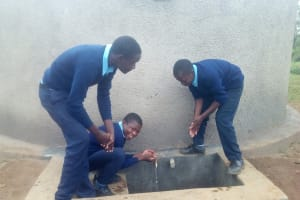 The Water Project: Esibeye Secondary School -  Clean Water