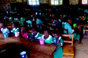 The Water Project: Erusui Girls Primary School -  Nursery Pupils