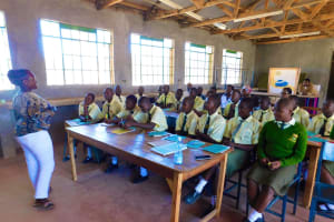 The Water Project: Bushili Secondary School -  Training