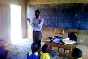 The Water Project: Chebunaywa Primary School -  Training