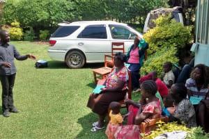The Water Project: Ivulugulu Community, Ishangwela Spring -  Training