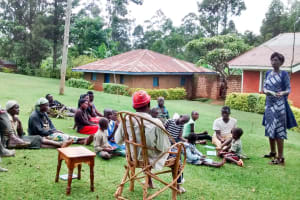 The Water Project: Bumavi Community, Esther Spring -  Training
