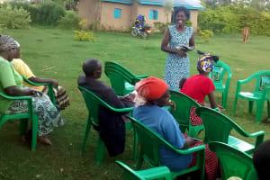 The Water Project: Elukani Community, Ongari Spring -  Training