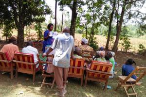 The Water Project: Ataku Community, Ataku Spring -  Training