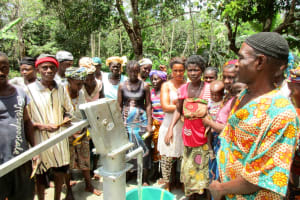The Water Project: Kolia Community -  Clean Water