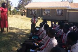 The Water Project: Shibale Secondary School -  Edith Khasemba