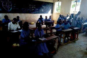 The Water Project: Imuliru Primary School -  Students In Class