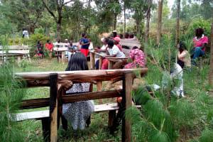 The Water Project: Shihingo Community, Mulambala Spring -  Training