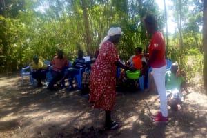 The Water Project: Musango Community, Dawi Spring -  Handwashing Training