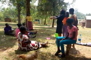 The Water Project: Shibuli Community, Khamala Spring -  Hand Washing Training