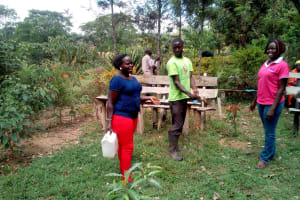 The Water Project: Shihingo Community, Mulambala Spring -  Handwashing Training