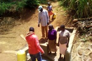 The Water Project: Mwichina Community, Mwichina Spring -  Onsite Training