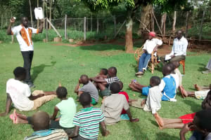 The Water Project: Bumavi Community, Esther Spring -  Water Treatment Training