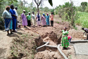 The Water Project: Ataku Community, Ataku Spring -  Onsite Training