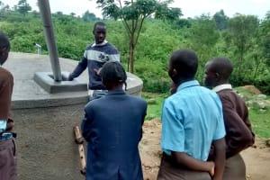 The Water Project: Lihanda Secondary School -  Tank Training