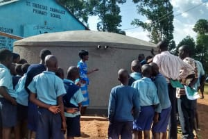 The Water Project: Shamalago Primary School -  Management Training