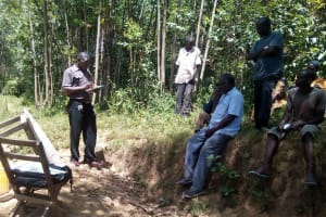 The Water Project: Maganyi Community, Bebei Spring -  Training
