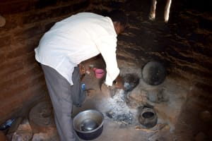 The Water Project: Karuli Community D -  Kimanthi Kitchen