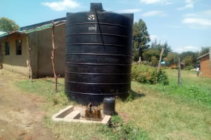 The Water Project: Shiru Primary School -  The Plastic Tank