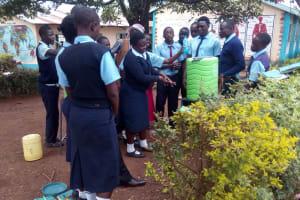 The Water Project: Esibeye Secondary School -  Hand Washing Training