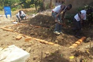 The Water Project: Shibale Secondary School -  Latrine Construction
