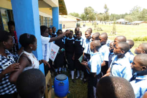 The Water Project: Muyere Secondary School -  Hand Washing Training
