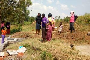 The Water Project: Shibuli Community, Khamala Spring -  Training At The Spring