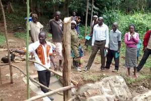 The Water Project: Lwenya Community, Warosi Spring -  Training