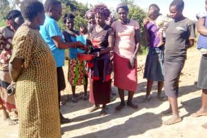 The Water Project: Musango Community, Ham Mwenje Spring -  Handwashing Training