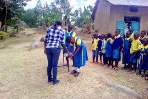 The Water Project: Chebunaywa Primary School -  Handwashing Training