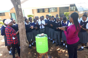 The Water Project: Imbale Secondary School -  Handwashing Training