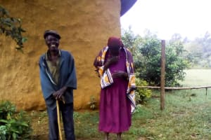The Water Project: Itukhula Community, Lipala Spring -  Sanitation Platform