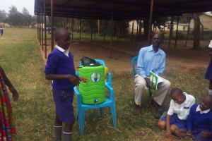 The Water Project: Mumias Complex Primary School -  Brian Wandera