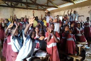The Water Project: Namalasire Primary School -  Students In Class
