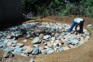 The Water Project: Shanjero Secondary School -  Tank Foundation