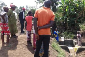 The Water Project: Shitungu Community, Omar Rashid Spring -  Spring Management Training