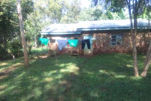 The Water Project: Shirakala Community, Ambani Spring -  Kenya A Sample Household