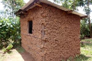 The Water Project: Shirakala Community, Ambani Spring -  Kenya Sample Household In The Community