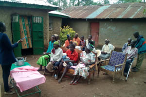 The Water Project: Musango Community, M'muse Spring -  Brush Your Teeth