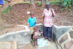 The Water Project: Musango Community, M'muse Spring -  Clean Water
