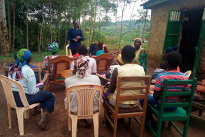 The Water Project: Musango Community, M'muse Spring -  Community Training